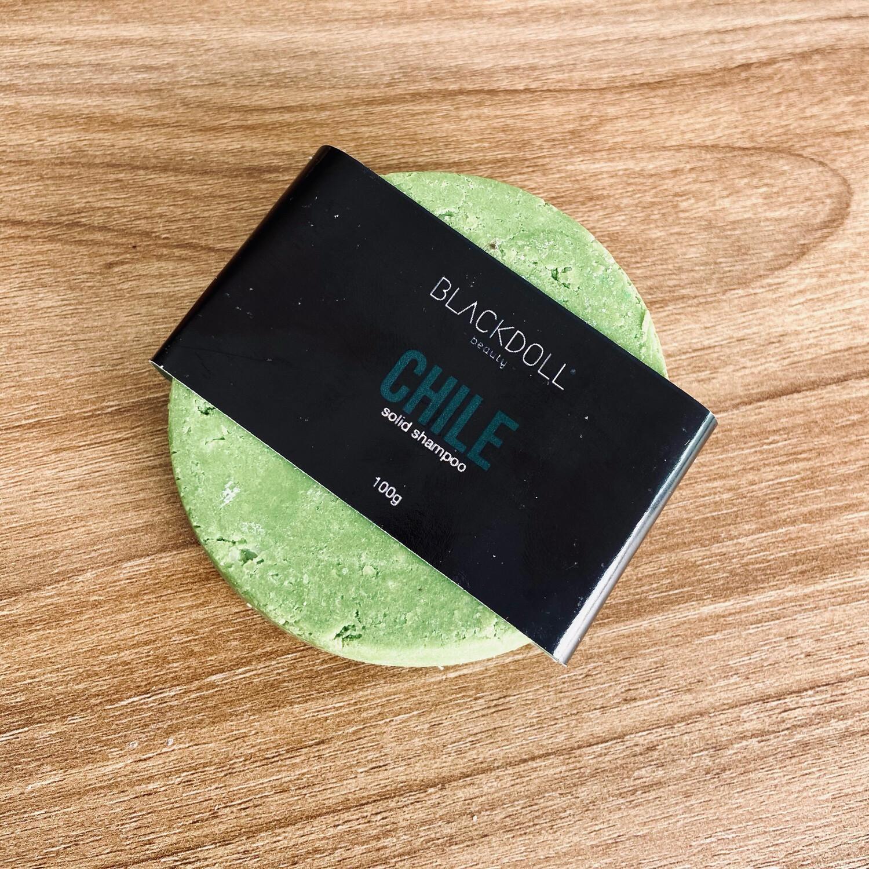 Solid Shampoo | Shampoo Sólido de Chile Para Cabello Graso, Anticaida, Acelera Crecimiento - BLACKDOLL BEAUTY