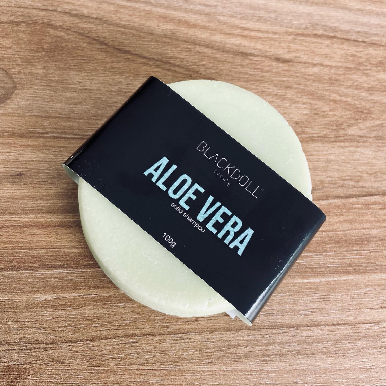 Solid Shampoo | Shampoo Sólido de Aloe Vera Para Cabello Seco, Combate Alopecia o Calvicie - BLACKDOLL BEAUTY