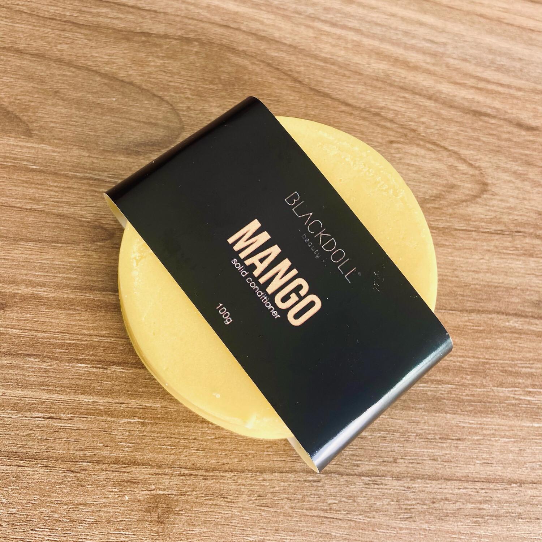 Acondicionador Sólido de Mango/Solid Conditioning Mango Smoothie para Todo Tipo de Cabello, Suaviza y Aporta Brillo - BLACKDOLL BEAUTY