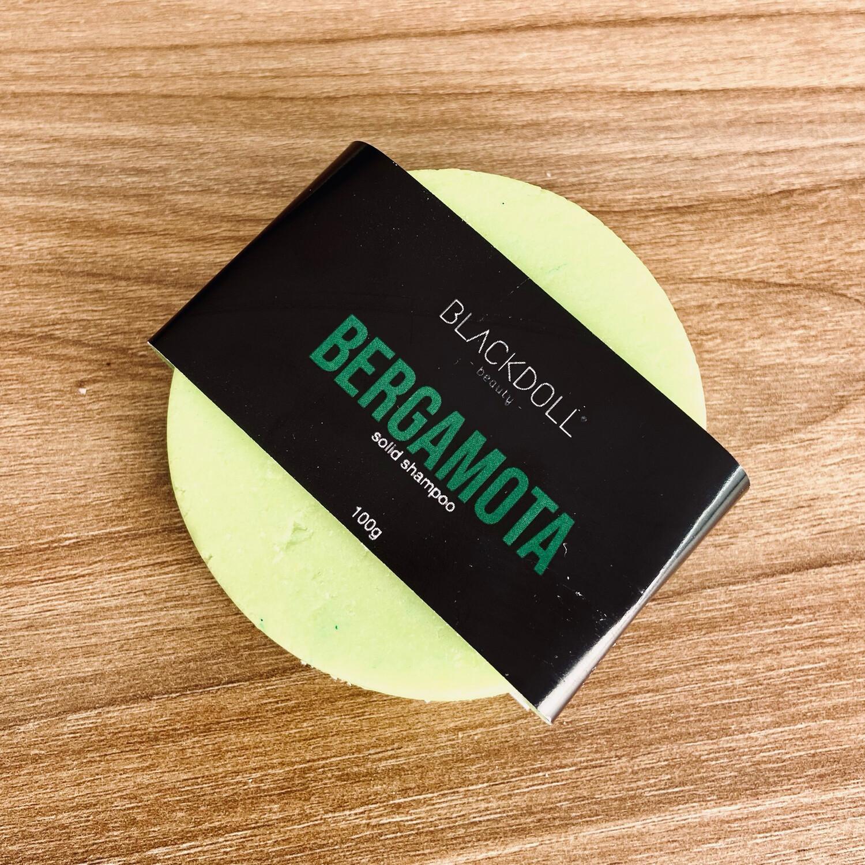 Solid Shampoo | Shampoo Sólido de Bergamota Para Cabello Graso, Alisante Natural - BLACKDOLL BEAUTY