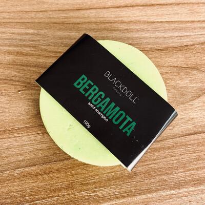Shampoo Sólido de Bergamota / Solid Shampoo Bergamot Juice para Cabello Graso, Alisante Natural - BLACKDOLL BEAUTY