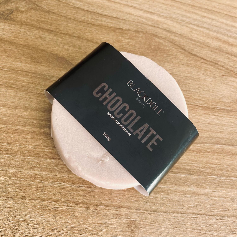 Solid Conditioner | Acondicionador de Chocolate Para Todo tipo de cabello, Previene Puntas Abiertas - BLACKDOLL BEAUTY