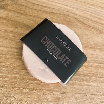 Acondicionador de Chocolate / Solid Conditioner Todo tipo de cabello, Previene Puntas Abiertas - BLACKDOLL BEAUTY