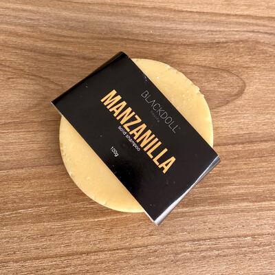 Shampoo Sólido de Manzanilla / Solid Shampoo Chamomile Tea para Cabello Seco, Relajante, Aclarante Natural - BLACKDOLL BEAUTY