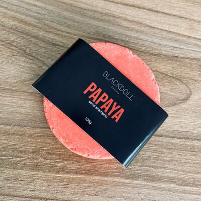 Shampoo Sólido de Papaya / Solid Shampoo Papaya Bowl para Todo Tipo de Cabello, Repara, Nutre y Controla la Grasa
