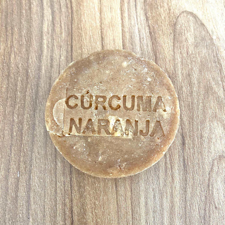 Jabón Cúrcuma Naranja 120grs - THE GREEN WITCH