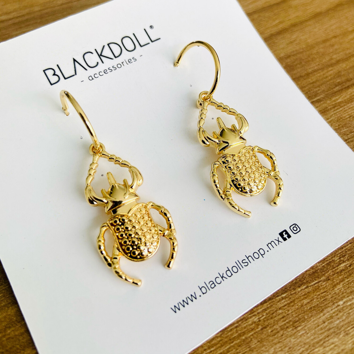 Insect Earrings - BLACKDOLL ACCESSORIES