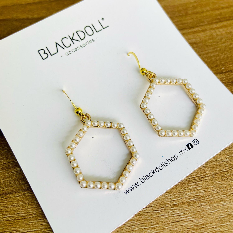 Hexagonal Earrings - BLACKDOLL ACCESSORIES