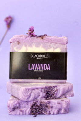 Jabón Delicioso de Lavanda - BLACKDOLL BEAUTY