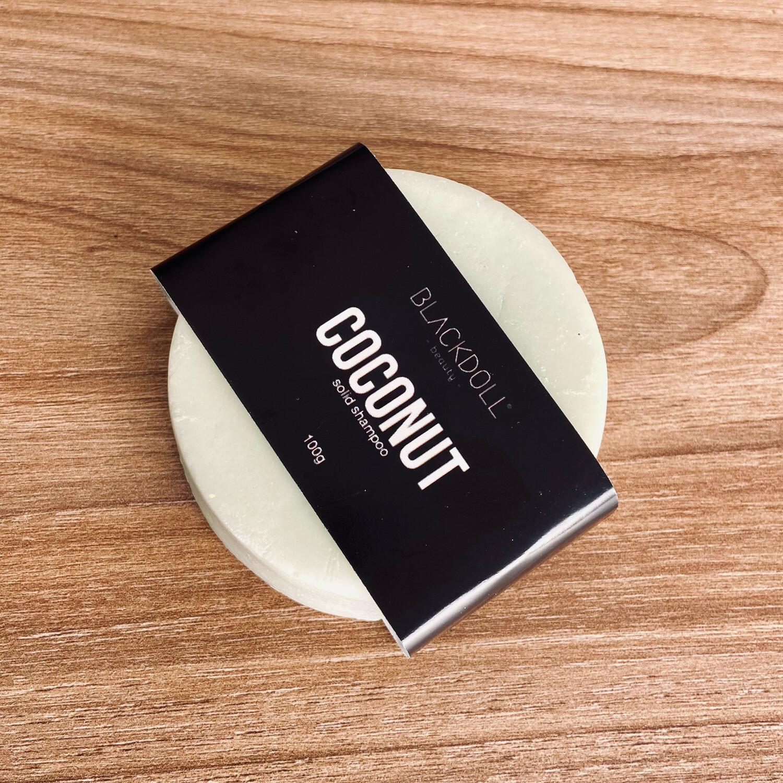 Solid Shampoo   Shampoo de Coco Para todo tipo de Cabello, Combate la Calvicie o Pérdida de Cabello - BLACKDOLL BEAUTY