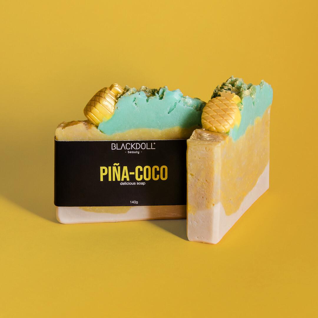 Delicious Soap | Jabón Delicioso Piña-Coco 140grs Summer Collection - BLACKDOLL BEAUTY