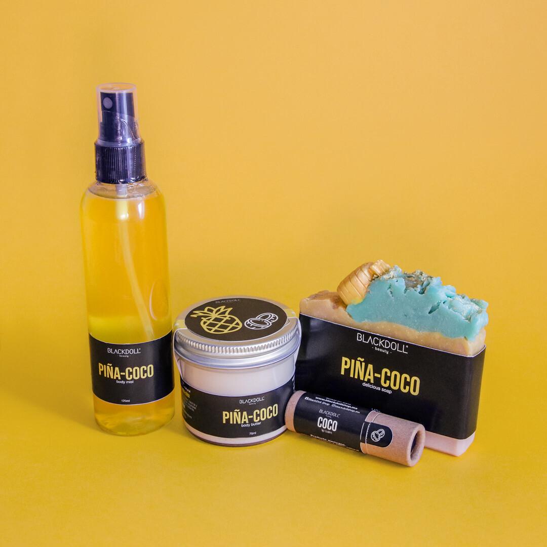 Kit Piña-Coco Summer Collection - BLACKDOLL BEAUTY