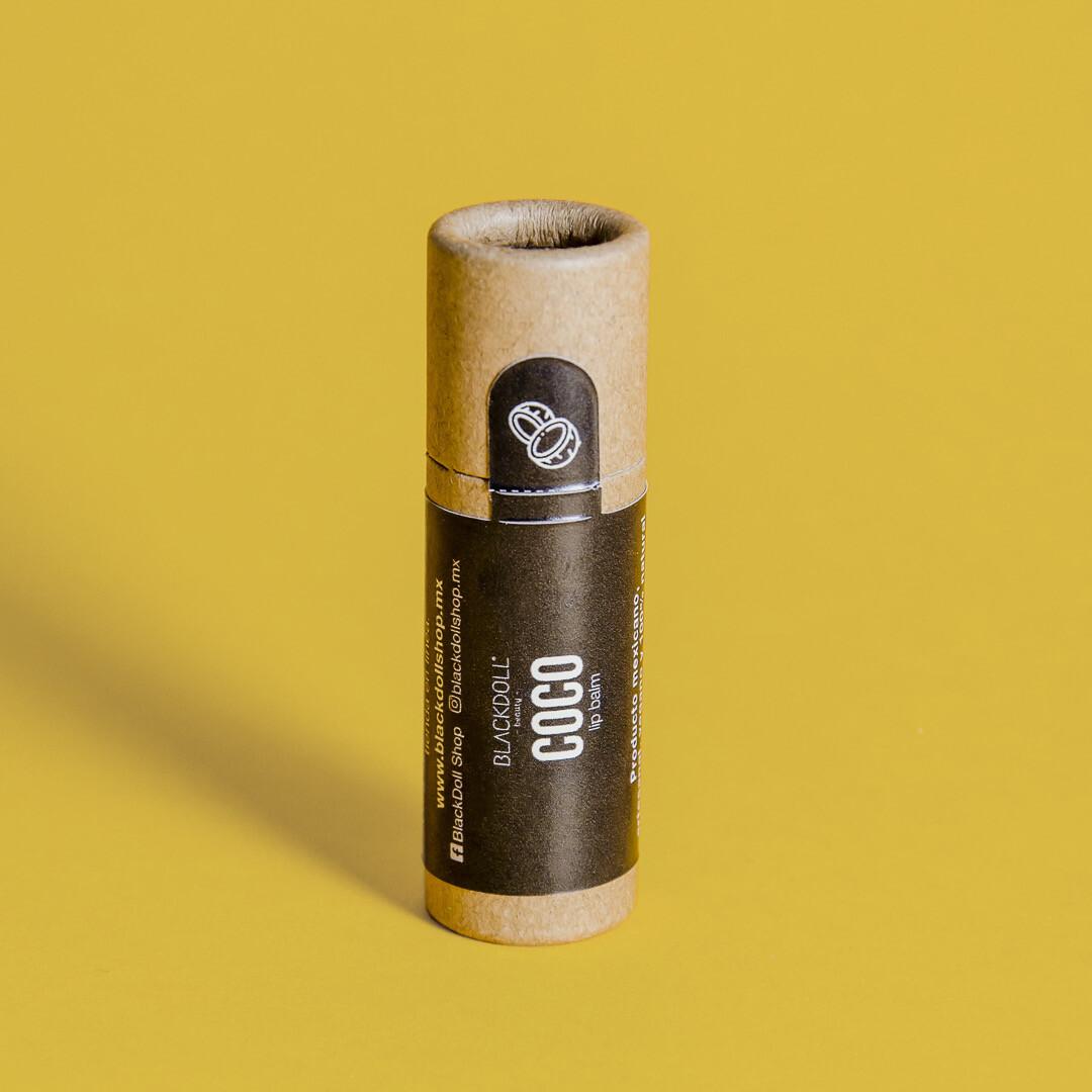 Lip Balm   Bálsamo Labial Coco Summer Collection - BLACKDOLL BEAUTY