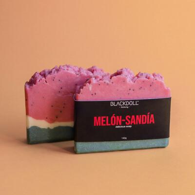 Delicious Soap | Jabón Delicioso Melón-Sandía 130grs Summer Collection - BLACKDOLL BEAUTY