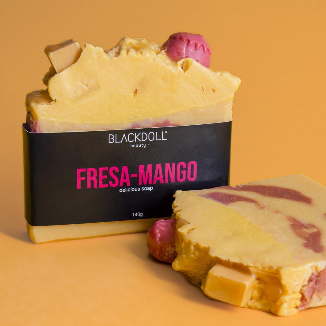 Delicious Soap | Jabón Delicioso Fresa-Mango Summer Collection  - BLACKDOLL BEAUTY