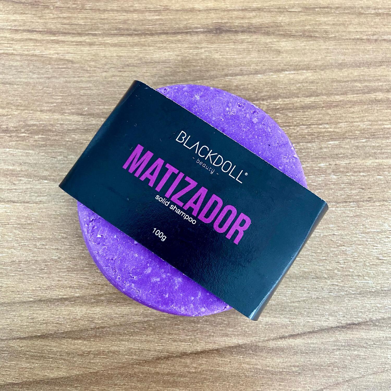 Solid Shampoo | Shampoo Sólido Matizador Para Cabello con Canas, Decolorado o Teñido - BLACKDOLL BEAUTY
