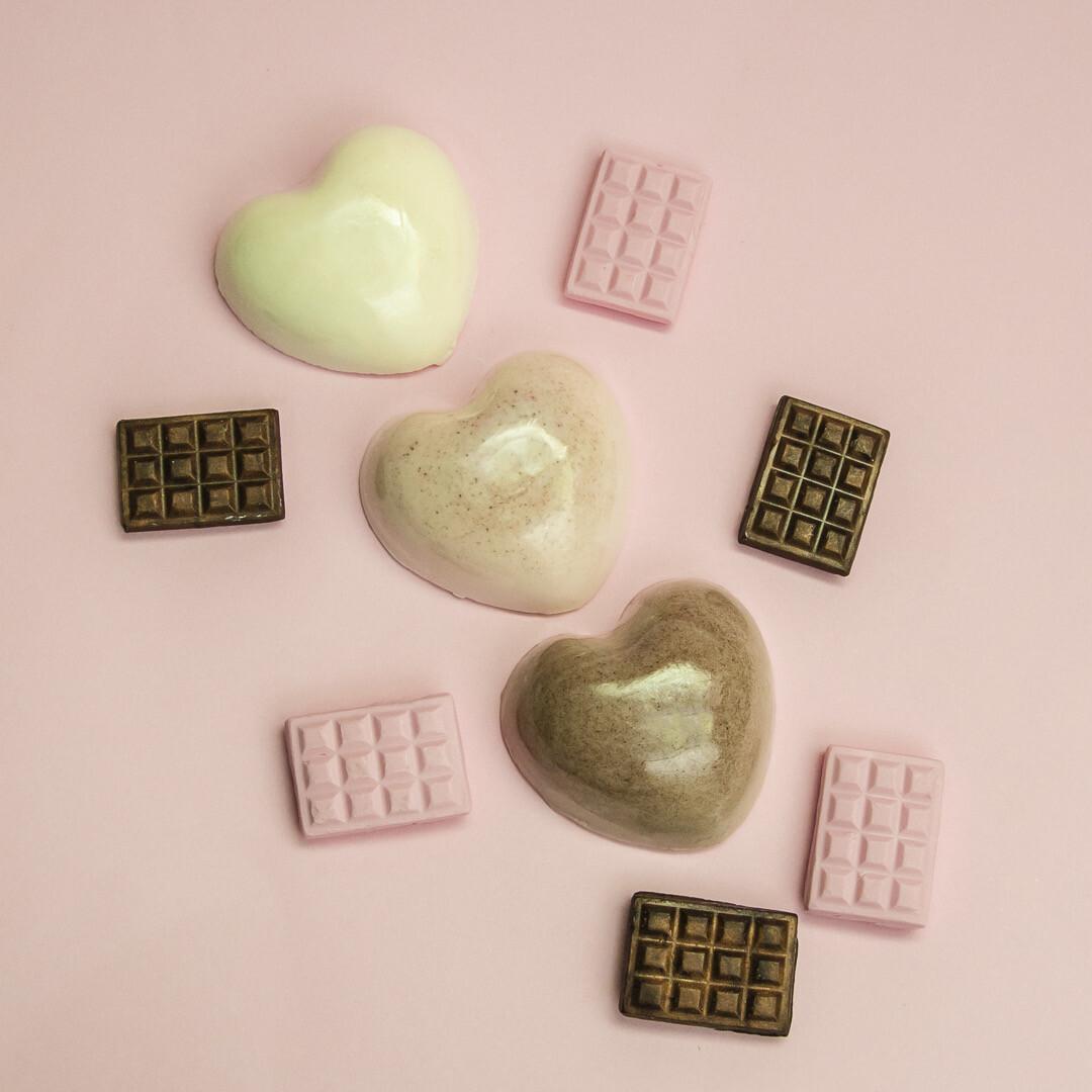 Kit Jabones Esenciales de Corazón - BLACKDOLL BEAUTY