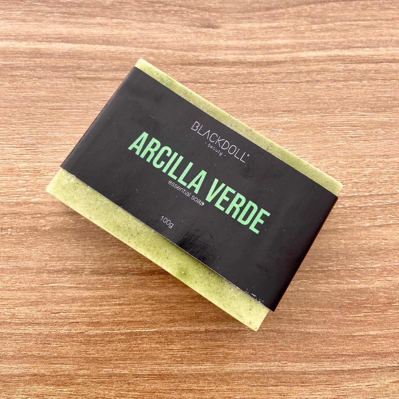 Essential Soap | Jabón Esencial de Arcilla Verde, Espirulina y Romero. Astringente - BLACKDOLL BEAUTY