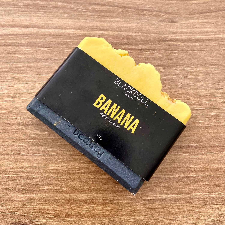 Delicious Soap | Jabón Delicioso de Plátano - BLACKDOLL BEAUTY
