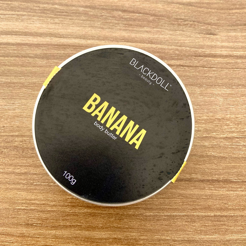 Body Butter | Manteca Corporal de Plátano 100grs - BLACKDOLL BEAUTY