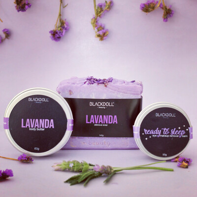 Kit de Lavanda - BLACKDOLL BEAUTY