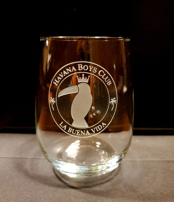Stemless Wine Glass Set (4)