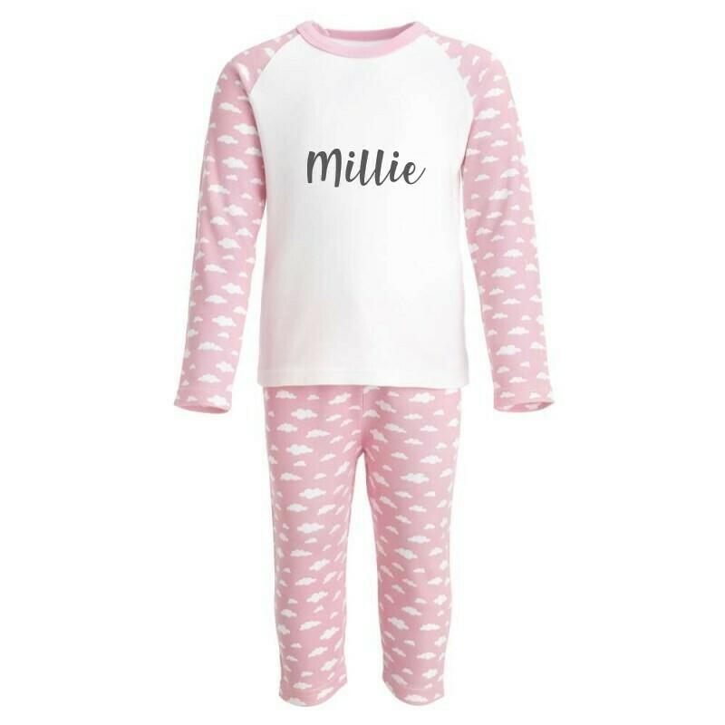 Children's Personalised Pyjamas