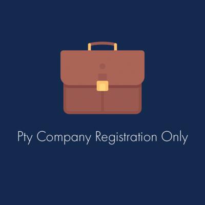 Pty Company Registration Only