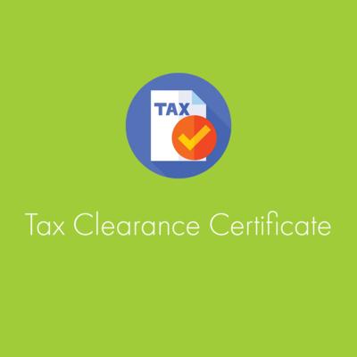 Tax Clearance Certificate