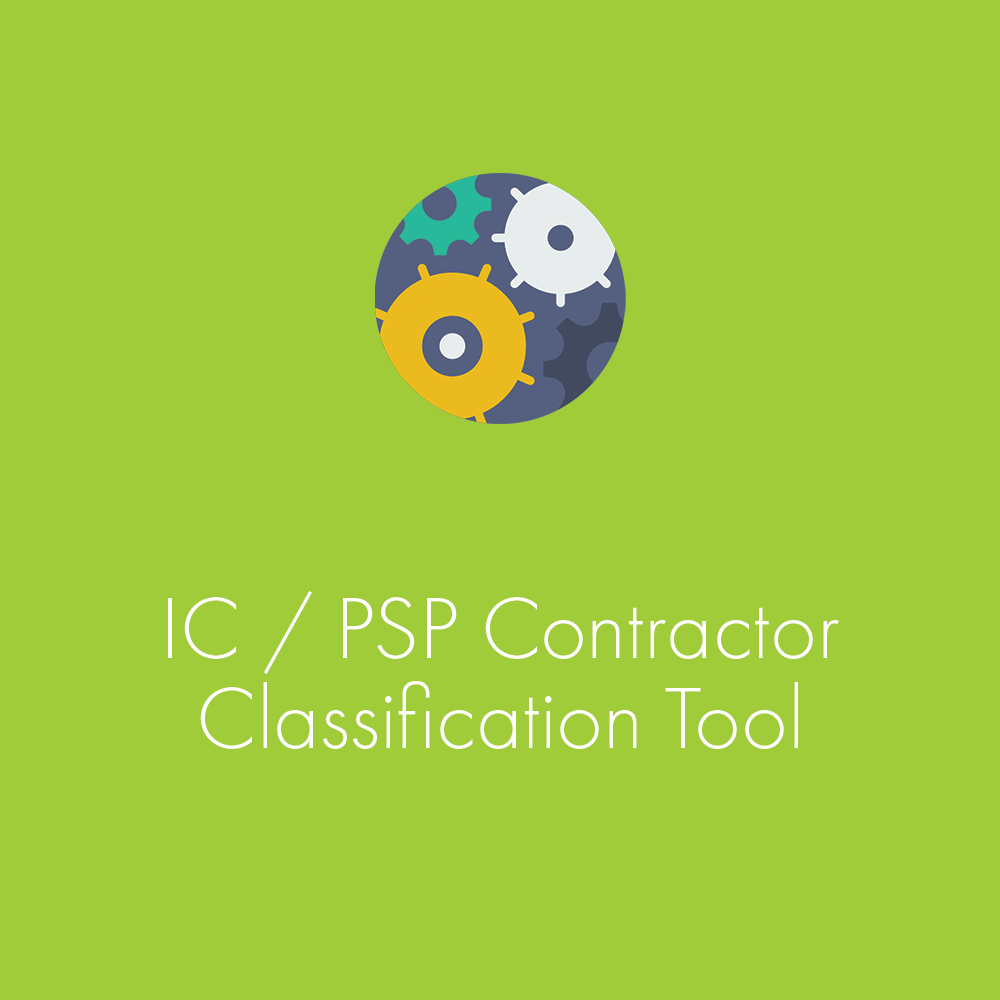 Contractor Classification Tool