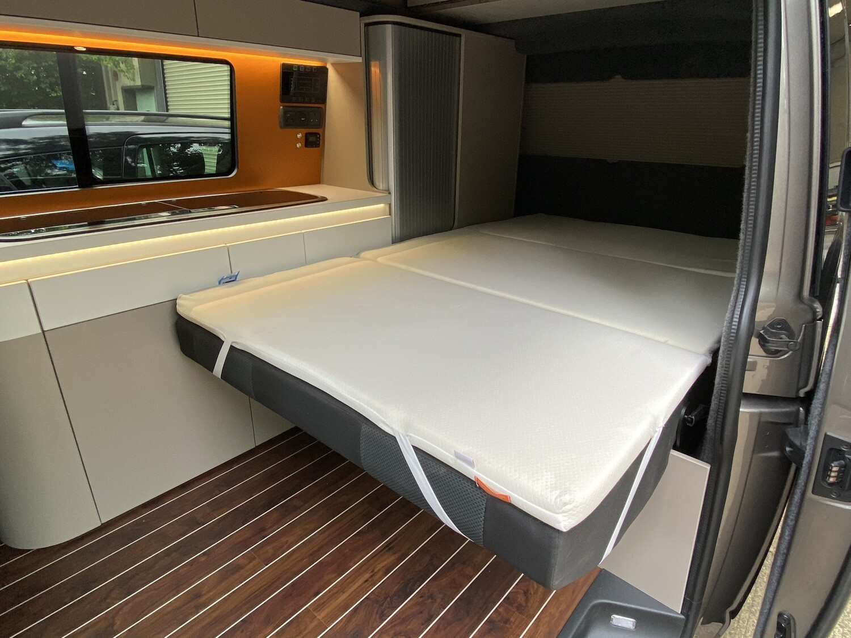 CampinComfort RIB112 mattress topper *** 24hr Shipping Service  ***