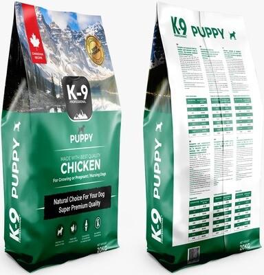 K-9 Professional Puppy Chicken 20 kg