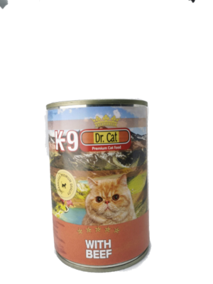 K9 Govedina mačke 405 g- konzerva