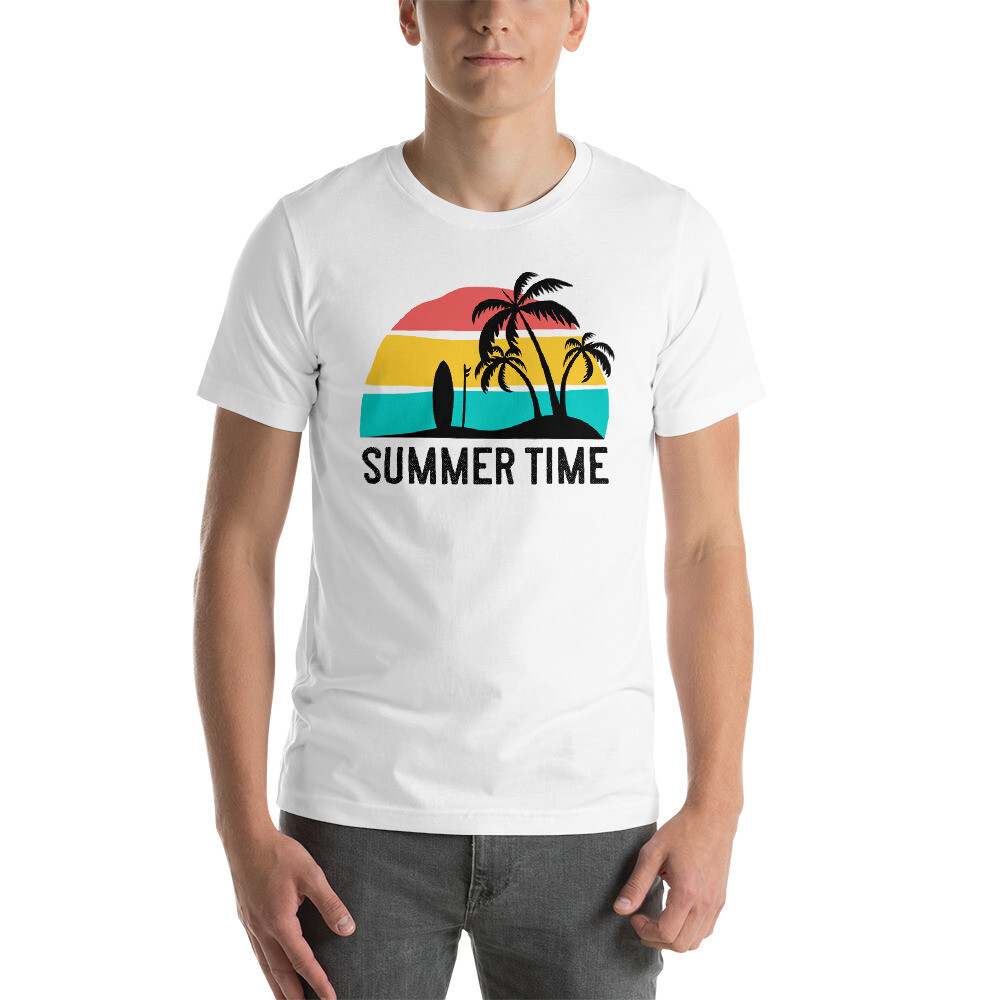 Summer Time Short-Sleeve Unisex T-Shirt