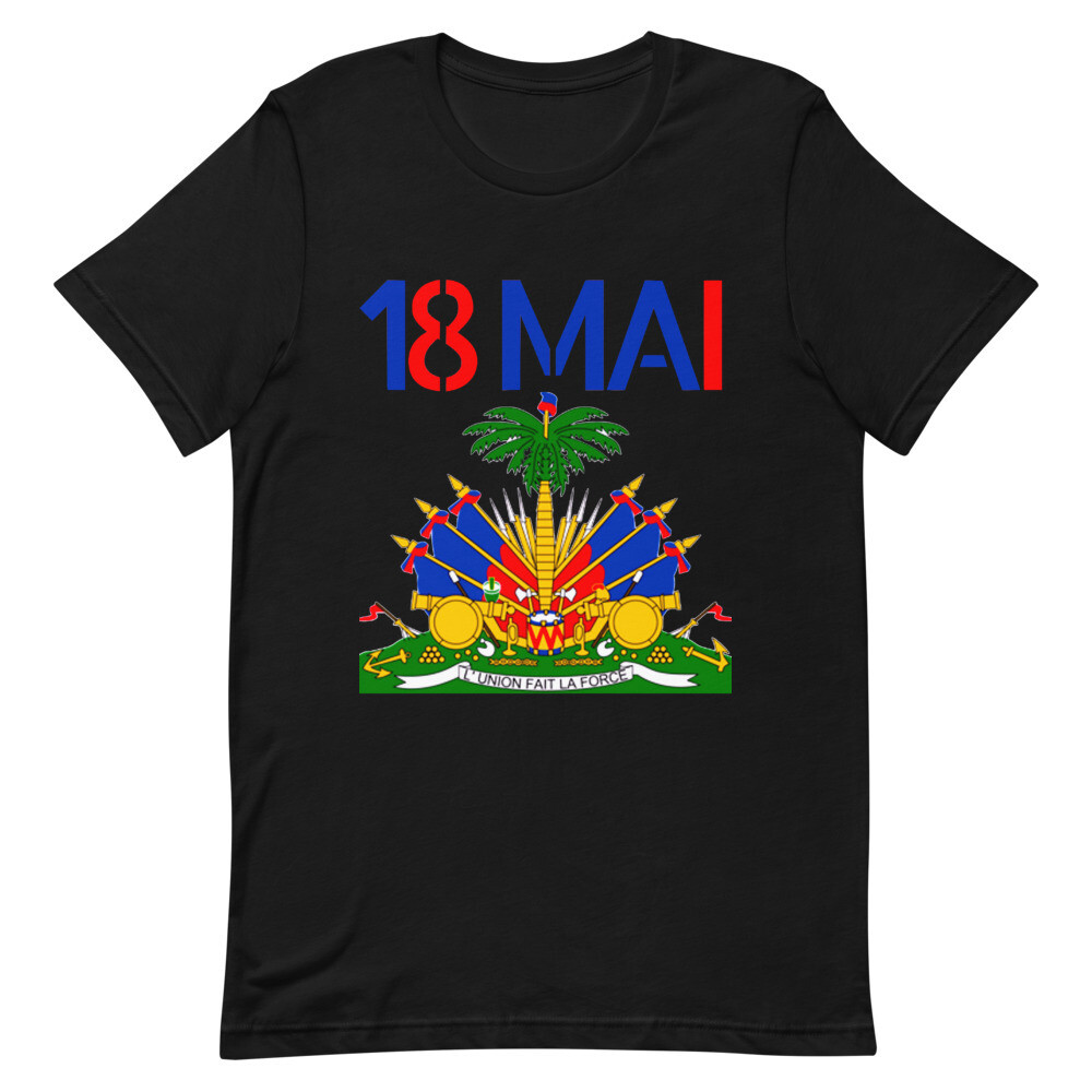 18 Mai Haitian Palm Tree Unisex T-Shirt