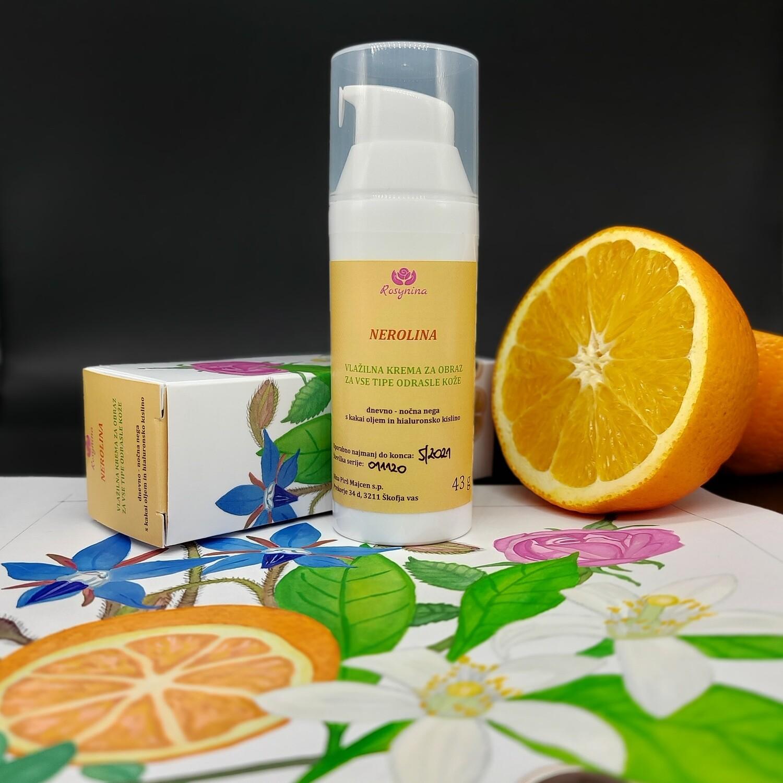 NEROLINA - vlažilna krema za obraz za vse tipe odrasle kože