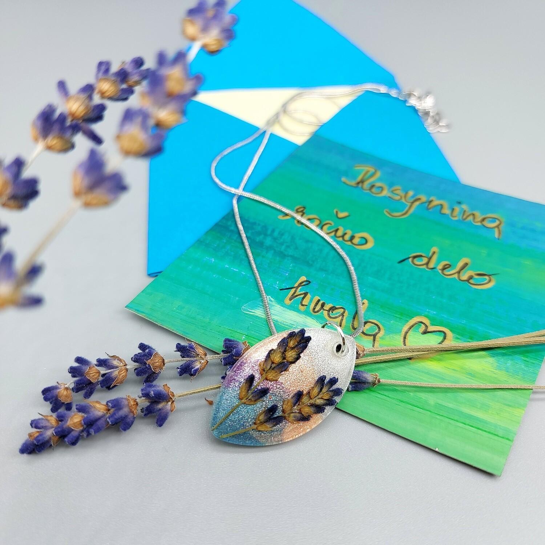 Cvetlično mineralna ogrlica ELIPSA S SIVKO 2