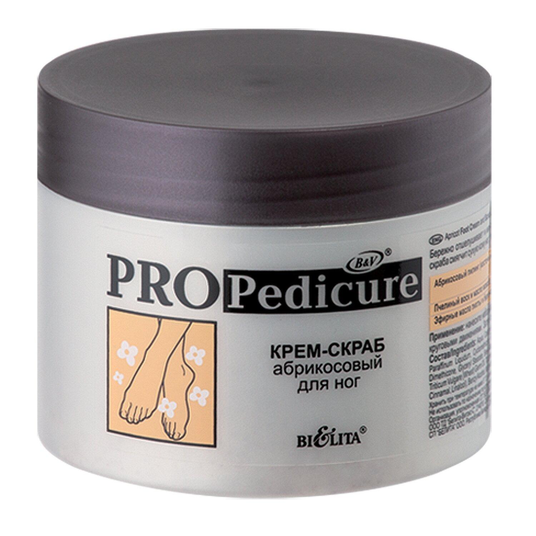 Белита | PRO PEDICURE | КРЕМ-СКРАБ абрикосовый для ног, 300 мл