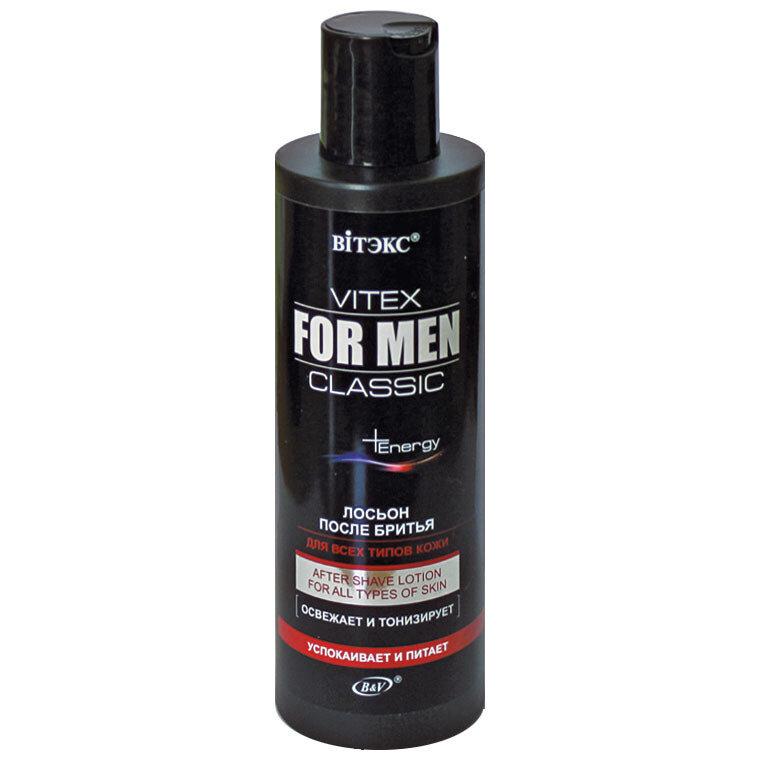 Витэкс | VITEX FOR MEN CLASSIC |  Лосьон после бритья для всех типов кожи, 200 мл