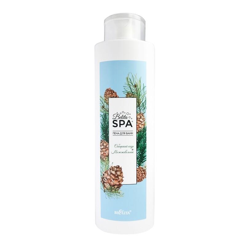 Белита | Пена для ванн Belita SPA |  Пена для ванн «Сибирский кедр и можжевельник», 520 мл