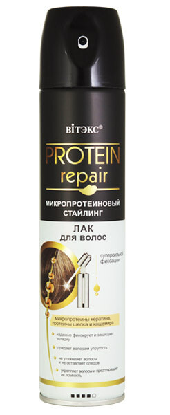 Витэкс   PROTEIN REPAIR   ЛАК для волос суперсильной фиксации, 300 мл