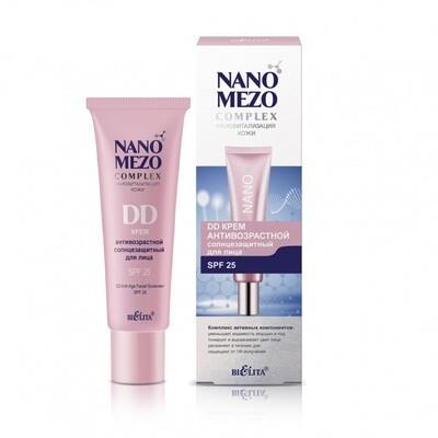 Белита | NANOMEZOcomplex |  DD КРЕМ Антивозрастной солнцезащитный для лица SPF25, 30 мл