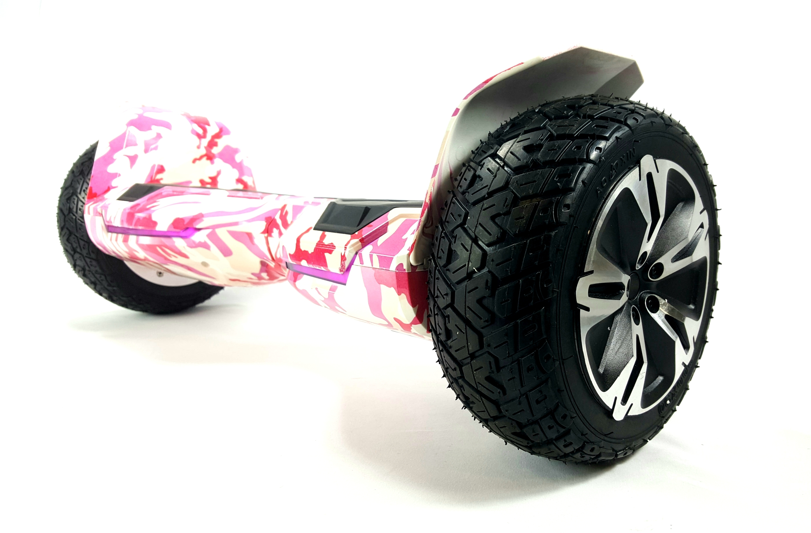"""Camo Pink G2 WARRIOR PRO 8.5/"""" All Terrain Off Road Hoverboard Made By Gyroor"""