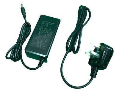Main Battery Charger for M5 electric scooter also Kugoo ES2, Phaewo X9 X10 42V 1.5A UK Plug CE BS Approved