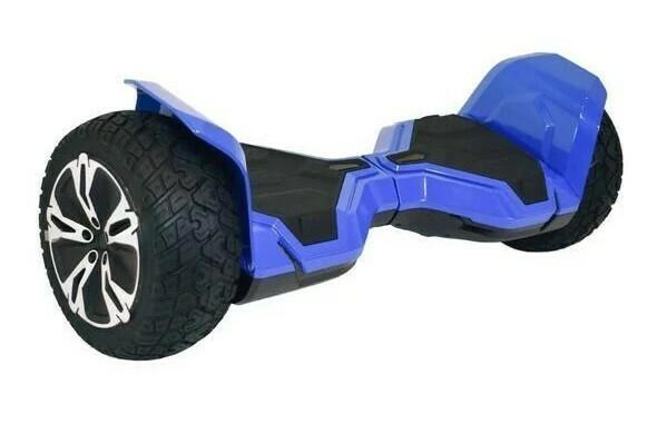 "Blue Black G2 WARRIOR PRO 8.5"" All Terrain Off Road Hoverboard Segway"