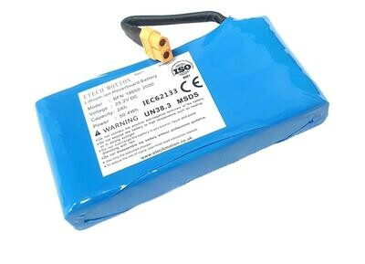 Replacement Battery For Hoverboard or Other DC Device 25.2v 2Ah 2000mAh 50.4Wh