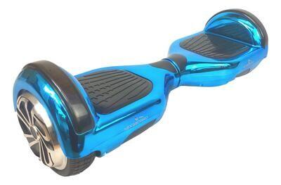 6.5 inch Chrome Blue Hoverboard Segway Self Balancing Scooter Refurbished Grade B+