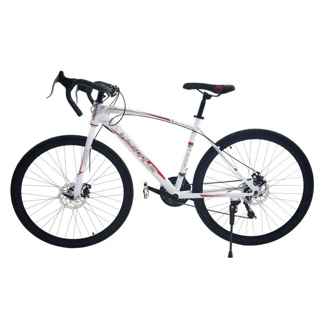 "Ventus Road Bike 26"" Lightweight 21 Gear Bicycle White"