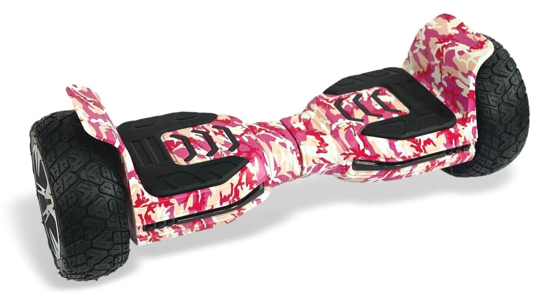 G5 XR PRO All Terrain Waterproof Hoverboard 8.5 inch PINK CAMO