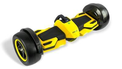 GYROOR F1 RACER Hoverboard 8.5 inch YELLOW with Racing Sound